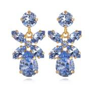 Mini Dione Earrings / Light Sapphire