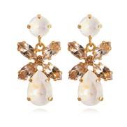 Mini Dione Earrings / Light Delite Silk