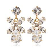 Mini Dione Earrings / Crystal