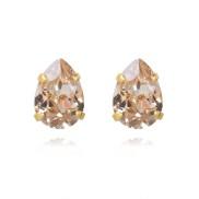 Mini Drop Stud Earrings / Silk