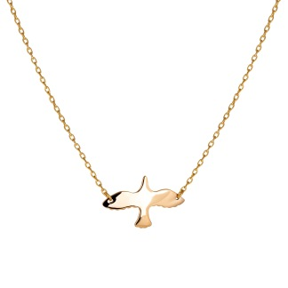 GOLDEN DOVE NECKLACE