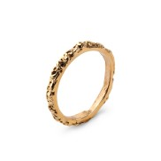 THIN BAND GOLD RING
