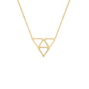 SUPER DIAMOND NECKLACE S GOLD