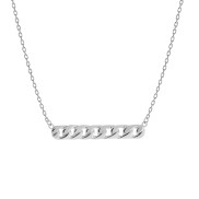 LINK NECKLACE SILVER