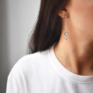 WOMEN UNITE LONG EARRINGS