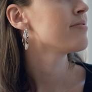 WAVE SMALL EARRINGS