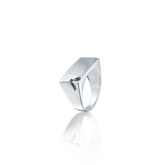 SQUARE BUTTERFLY RING