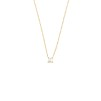 PETITE PEARL NECKLACE GOLD