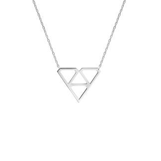 SUPER DIAMOND NECKLACE S SILVER - SUPER DIAMOND NECKLACE S SILVER
