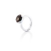 LOVE BEAD GRANDE RING - SMOKEY QUARTZ