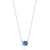 LOVE BEAD GRANDE NECKLACE - TOPAZ - LOVE BEAD GRANDE NECKLACE TOPAZ 50CM
