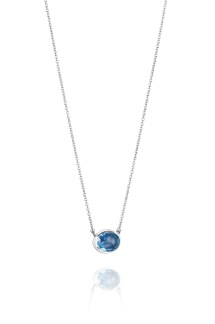 LOVE BEAD GRANDE NECKLACE - TOPAZ - LOVE BEAD GRANDE NECKLACE TOPAZ 42/45CM