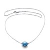 LOVE BEAD GRANDE NECKLACE - TOPAZ