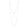 LE KNOT DROP NECKLACE LONG