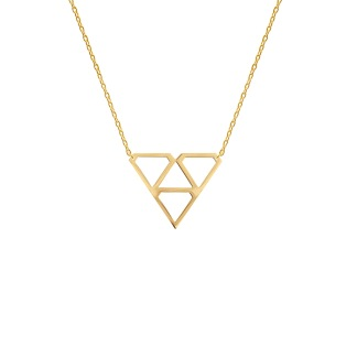SUPER DIAMOND NECKLACE S GOLD - SUPER DIAMOND NECKLACE S GOLD