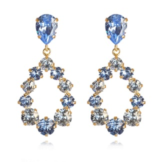Delia Earrings / Light Sapphire