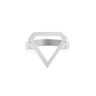 SUPER DIAMOND RING SILVER