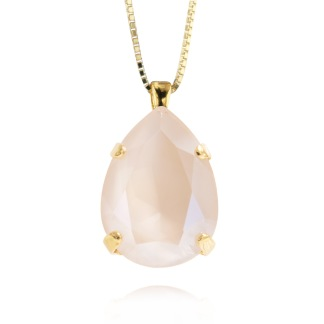 Classic Drop Necklace / Ivory Cream