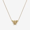 Bee Necklace Gold Plated