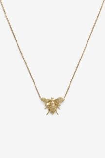 Bee Necklace Gold Plated - Bee Necklace Gold Plated