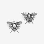 Bee Earring Silver Oxy