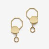 Beehaive Earring Gold Plated
