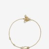 Bee Bracelet Gold Plated - Bee Bracelet Gold Plated