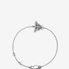 Bee Bracelet Silver Oxy