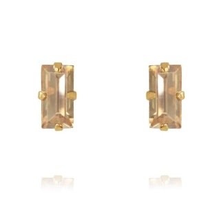 BAGUETTE EARRINGS/GOLDEN SHADOW