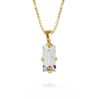 Baguette Necklace / Crystal