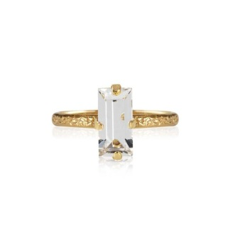 Baguette Ring / Crystal