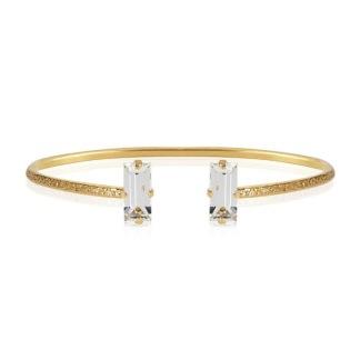 Baguette Bracelet - Crystal Gold