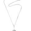 Amor fati globe pendant - crystal quartz