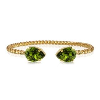 Mini Drop Bracelet / Olivine