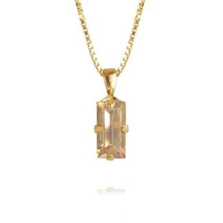 Baguette Necklace / Golden Shadow
