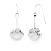 Amor fati globe earrings - crystal quart - Amor fati globe earrings - crystal quart