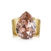 Classic Drop Ring / Astral Pink - Classic Drop Ring / vintage rose gold