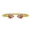 Mini Drop Bracelet - Vintage rose Guld