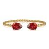 Mini Drop Bracelet - Scarlet Guld