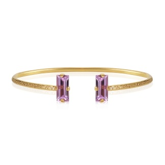 Baguette Bracelet - Violet Guld
