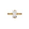 Baguette Ring - Baguette Ring / Crystal Gold