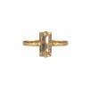 Baguette Ring - Baguette Ring / Golden shadow gold Gold