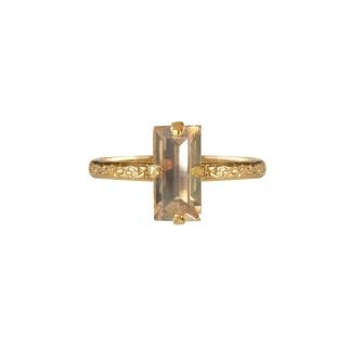 Baguette Ring - Golden shadow Gold
