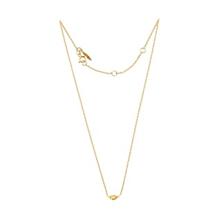 MORNING DEW PETITE NECKLACE GOLD - MORNING DEW PETITE NECKLACE GOLD