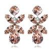 Dione Earrings - Vintage Rose Silver