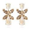 Dione Earrings - Light Delite Silk Guld