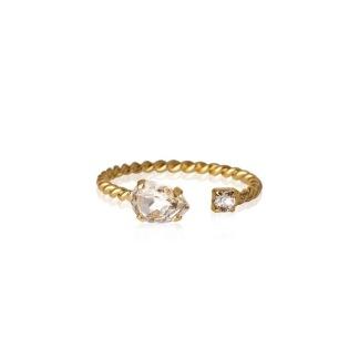 Nani Ring - Crystal Guld