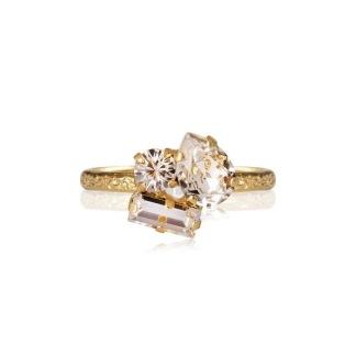 Isa Ring - Crystal Guld