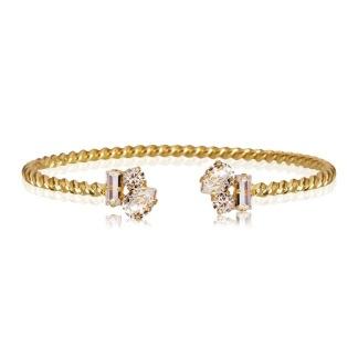 Isa Bracelet - Crystal Guld