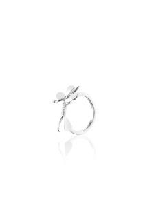 Four clover ring
